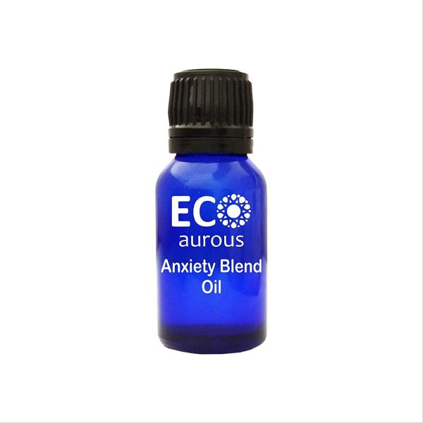 Buy Organic Anxiety Essential Oil Blend 100% Natural, Pure for Aromatherapy Diffuser, Massage and Depression (10 ml(0.33 oz)) - Eco Aurous