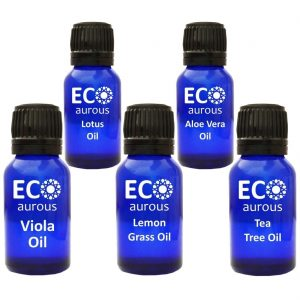 Buy Essential Oils Set For Clear Skin, Face And Massage Online By Eco Aurous