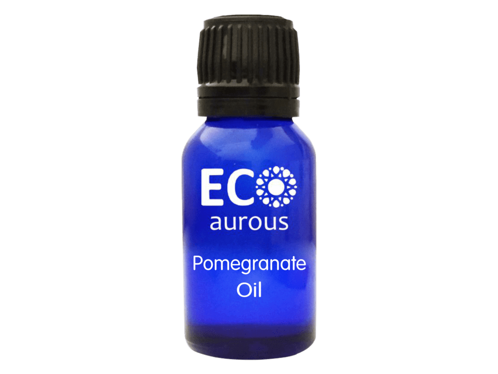 Buy Pomegranate Essential Oil 100% Natural and Organic for Skin, Face Online - Eco Aurous