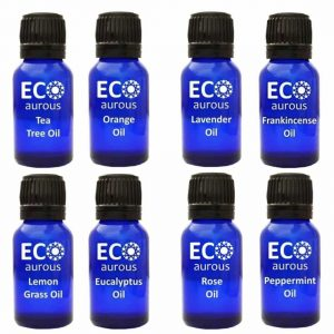 Buy Organic Aromatherapy Essential Oils Set( 8X10ml(0.33 oz) Pure & Natural Online - Eco Aurous