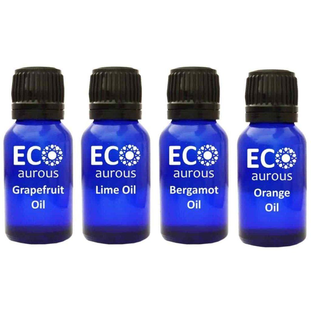 Buy Citrus Essential Oils Set for Aromatherapy, Diffuser Online By Eco Aurous - Eco Aurous