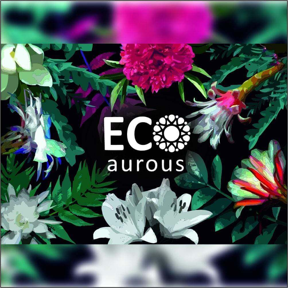 Floral Gift Set of 4 Premium Grade Essential Oil - Tuberose, Jasmine, Lotus & Lily Oil 10ml Each by Eco Aurous - Eco Aurous