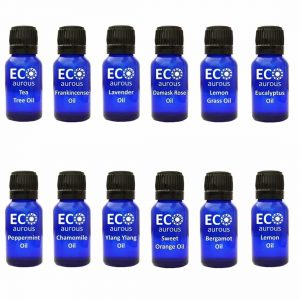 Buy Organic Aromatherapy Essential Oils Set Kit ( 12X10ml(0.33 oz) Pure & Natural Online - Eco Aurous
