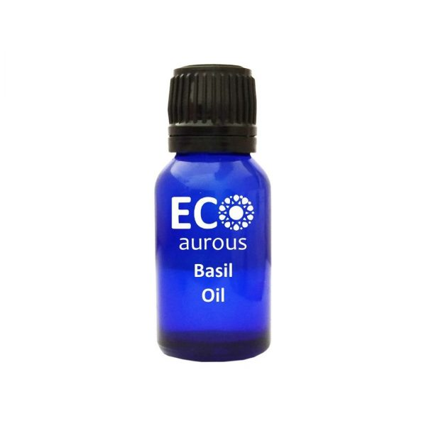 Buy Basil Oil 100% Natural & Organic Saint Joseph's Wort Oil Online - Eco Aurous