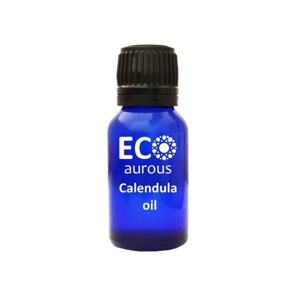 Buy Calendula Essential Oil 100% Natural & Organic For Skin, Acne Online - Eco Aurous