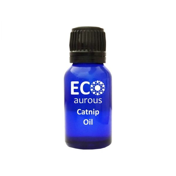 Buy Pure Catnip Essential Oil 100% Natural & Organic For Cats Online - Eco Aurous