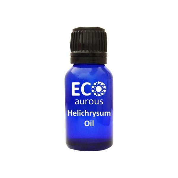 Buy Organic Helichrysum Essential Oil 100% Natural For Skin and Scars Online - Eco Aurous