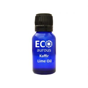 Buy Organic Kaffir Lime Essential (Citrus Hystrix) Oil 100% Natural Online - Eco Aurous