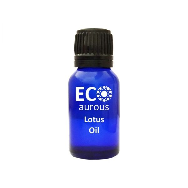 Buy Organic Lotus Essential Oil 100% Natural Blue Lotus Oil for Skin Online - Eco Aurous