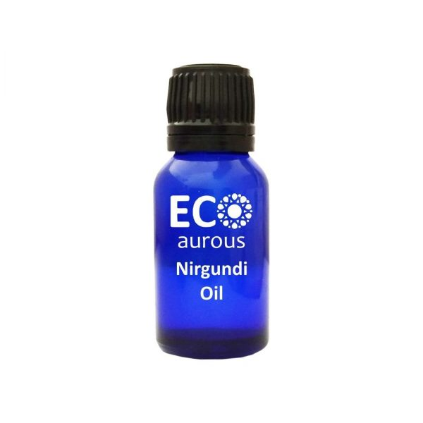 Buy Nirgundi Essential Oil 100% Natural & Organic For Pain Online - Eco Aurous