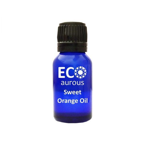 Buy Sweet Orange Essential Oil 100% Natural & Organic Face, Skin Online - Eco Aurous