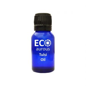 Buy Tulsi Essential Oil 100% Natural & Organic Holy Basil Oil Online - Eco Aurous