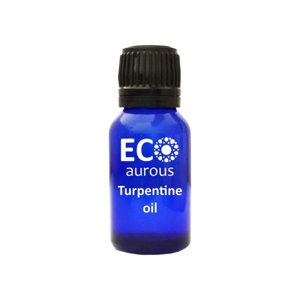 Buy Turpentine Essential Oil 100% Natural & Organic For Pain, Cleaning Online - Eco Aurous