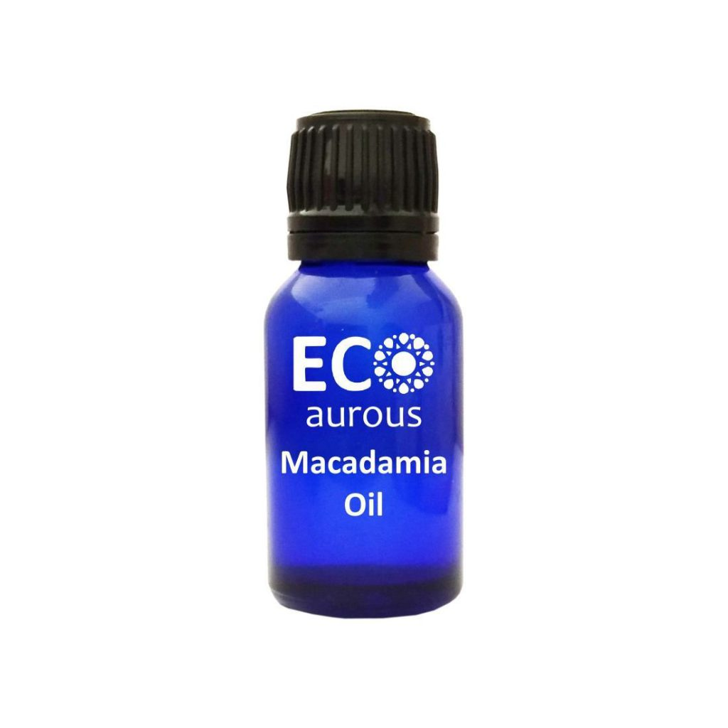 Buy Organic Cold Pressed Macadamia Nut Oil 100% Natural For Hair & Skin Online - Eco Aurous