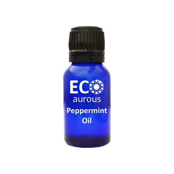 Buy Peppermint Essential Oil 100% Natural & Organic for Hair, Skin Online - Eco Aurous