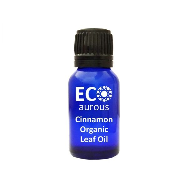 Buy Organic Cinnamon Leaf Oil 100% Natural for Skin and Face Online - Eco Aurous