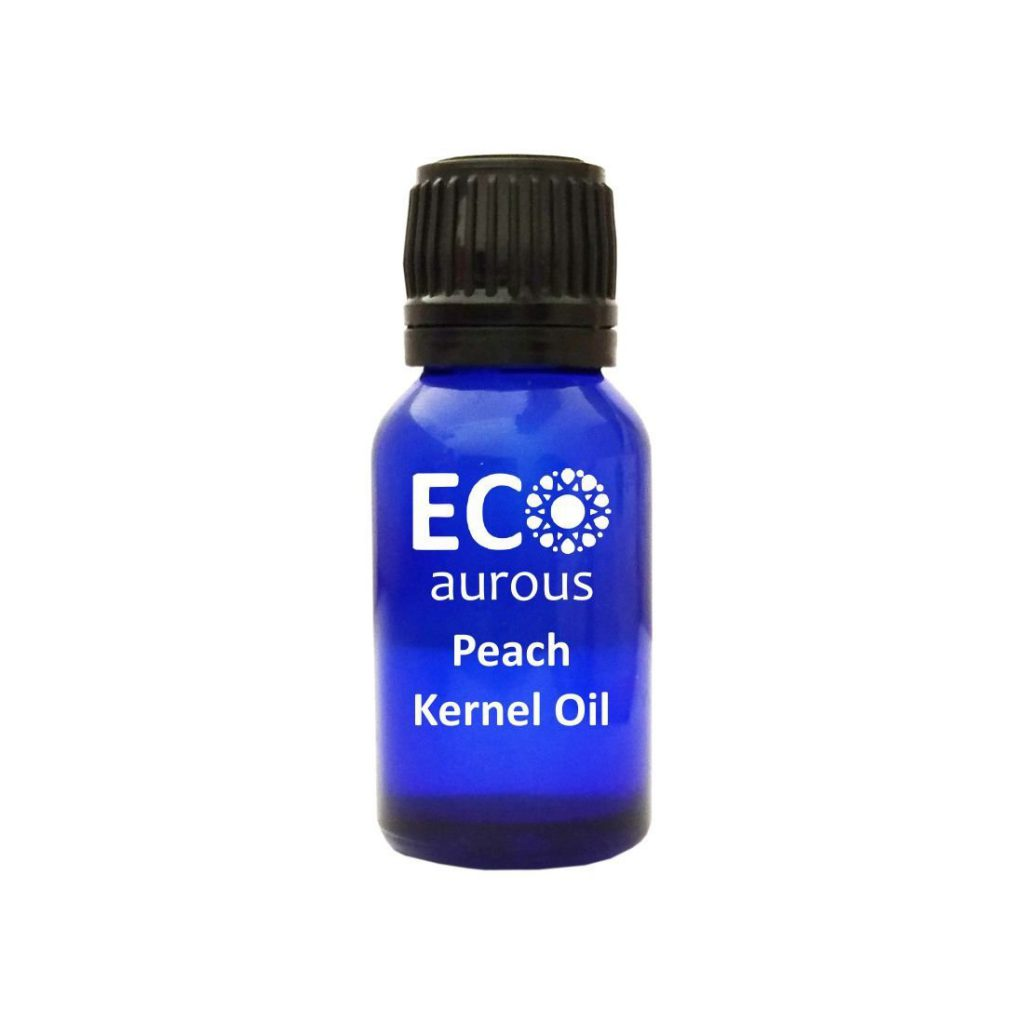 Buy Peach Kernel Oil 100% Natural & Organic For Hair, Body Online - Eco Aurous