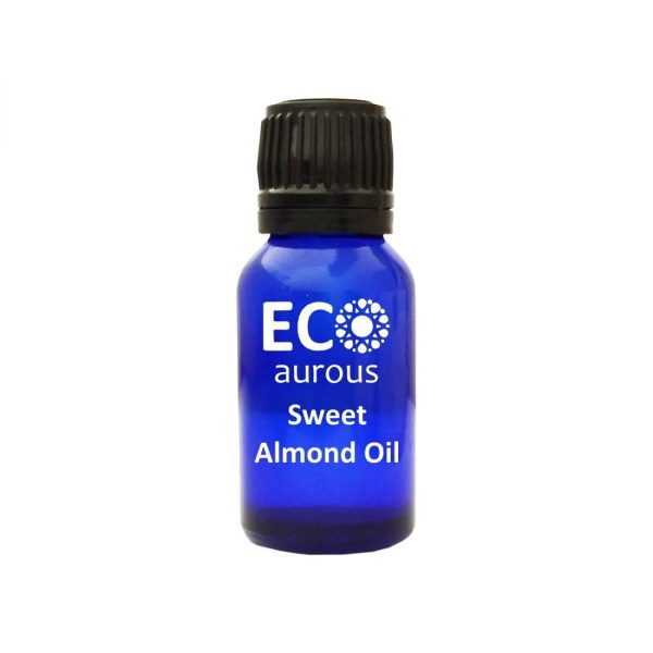 Sweet Almond Oil 100% Natural & Organic Sweet Almond Carrier Oil By Eco Aurous