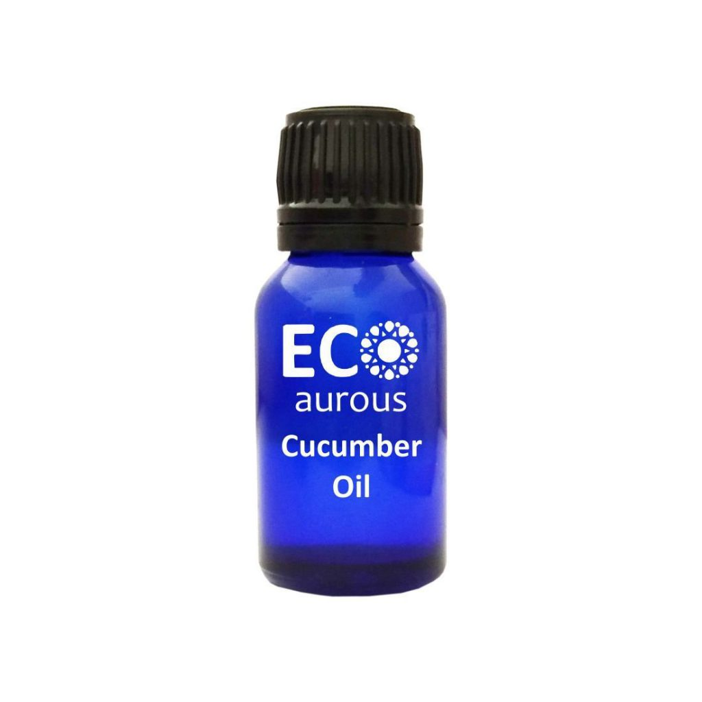 Buy Organic Cucumber Essential Oil 100% Natural For Skin & Hair Online - Eco Aurous