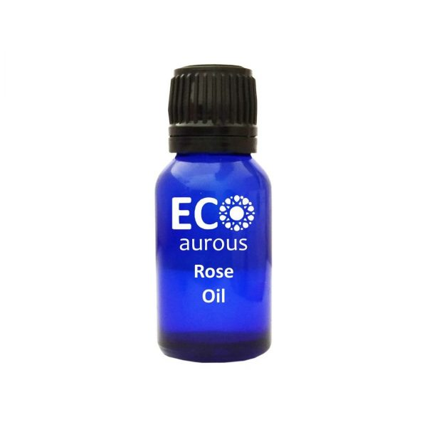 Buy Rose Essential Oil 100% Natural & Organic For Skin, Face, Hair Online - Eco Aurous