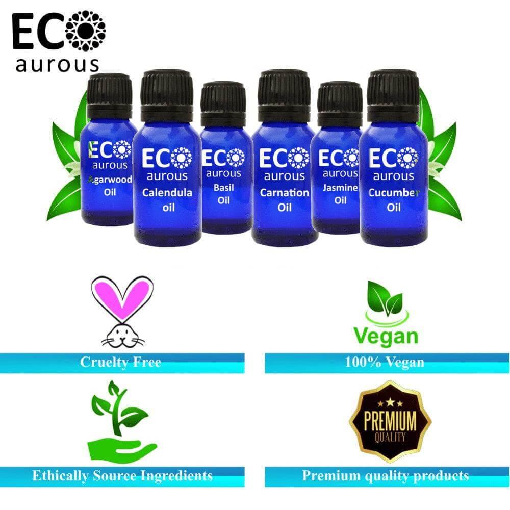 Buy Yarrow Essential Oil 100% Natural & Organic For Skin, Hair Online - Eco Aurous