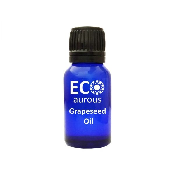 Buy Organic Cold Pressed Grapeseed Oil 100% Natural For Skin and Hair Online - Eco Aurous