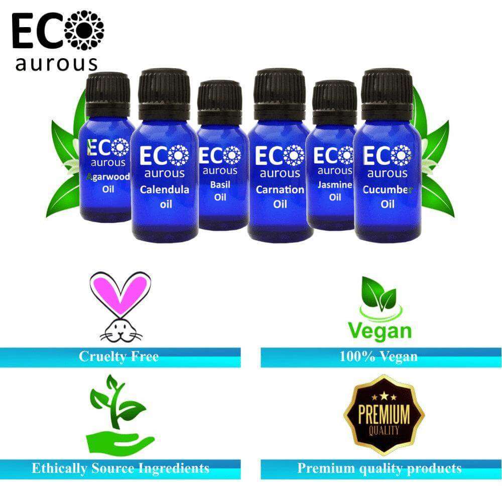 Buy Lemongrass Essential Oil 100% Natural & Organic For Hair, Skin Online - Eco Aurous