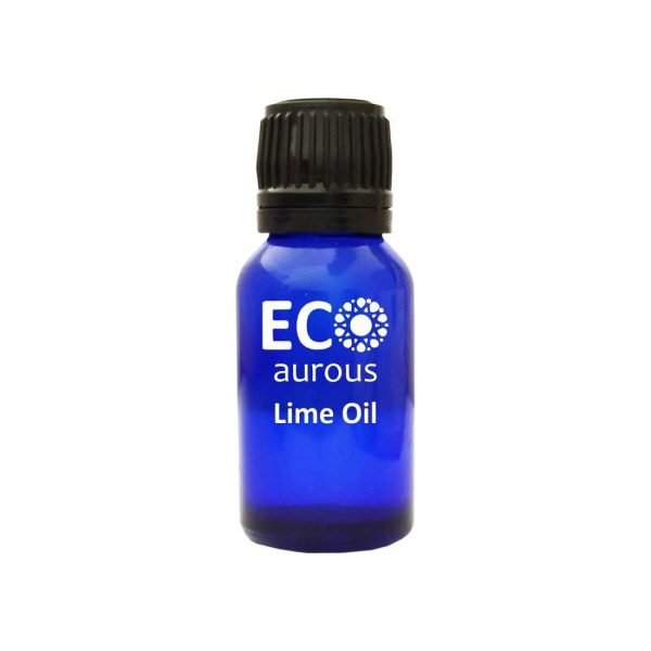 Buy Organic Lime Essential Oil 100% Natural for Skin and Aromatherapy Onilne - Eco Aurous