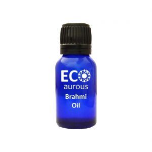 Buy Organic Brahmi Essential Oil 100% Natural For Hair Growth & Massage Online - Eco Aurous