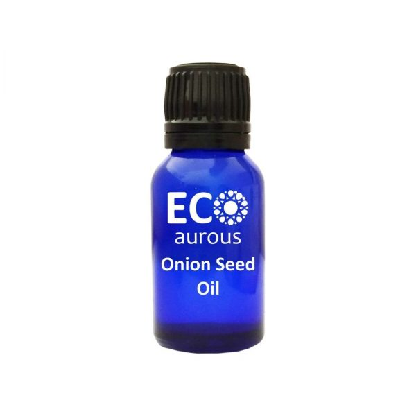 Buy Organic Onion Seed Oil 100% Natural For Hair Growth Online By Eco Aurous - Eco Aurous