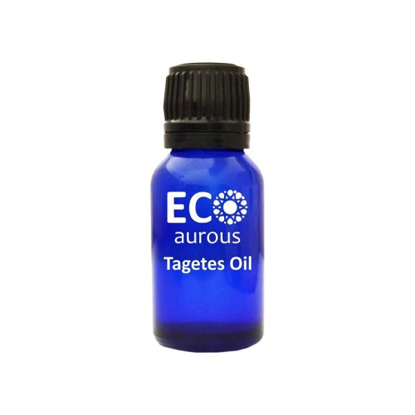 Buy Tagetes Essential Oil 100% Natural & Organic Marigold Oil Online - Eco Aurous
