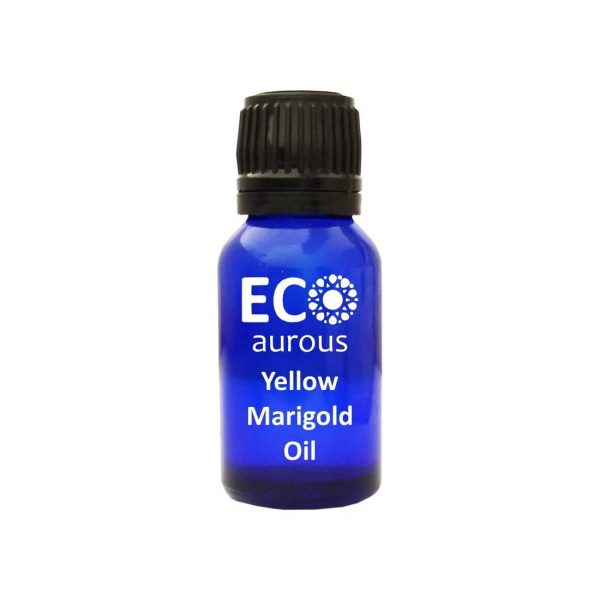 Buy Yellow Marigold Essential Oil Natural & Organic For Face, Skin Online - Eco Aurous