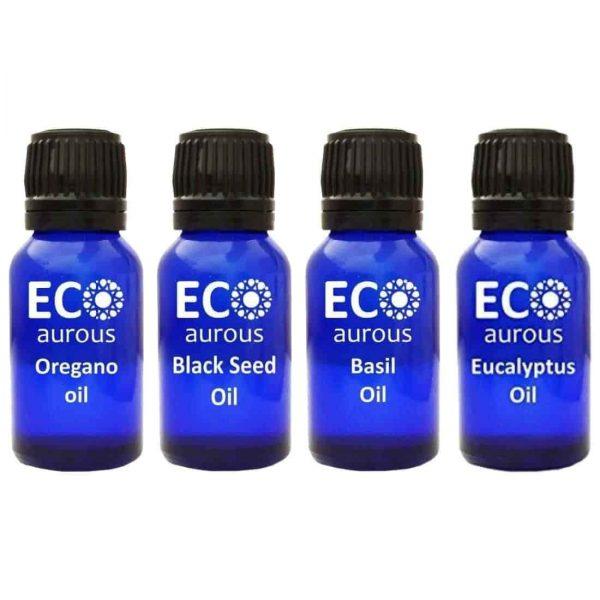 Buy Essential Oils Set for Illness Prevention Online By Eco Aurous - Eco Aurous