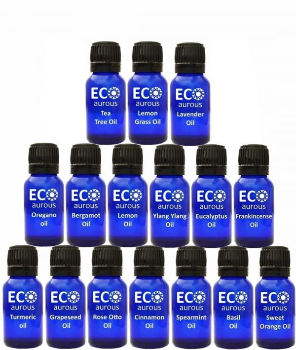 Buy Organic Aromatherapy Essential Oils Set Kit ( 16X10ml(0.33 oz) Pure & Natural Online - Eco Aurous