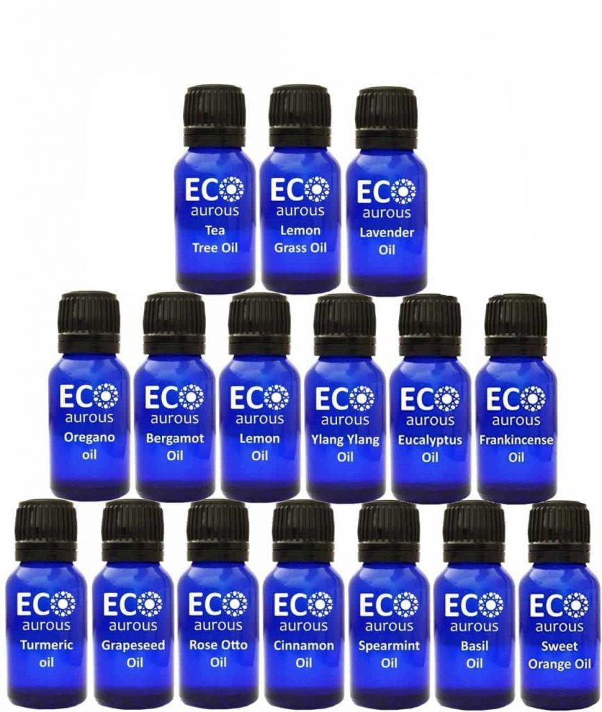 Buy Organic Aromatherapy Essential Oils Set Kit ( 16X10ml(0.33 oz) Pure & Natural Online - Eco Aurous