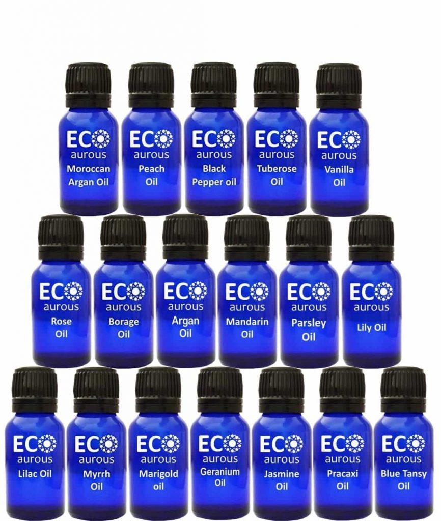 Buy Organic Aromatherapy Essential Oils Set Kit ( 36X10ml(0.33 oz) Pure & Natural Online - Eco Aurous