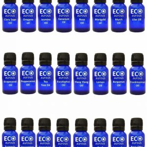 Buy Organic Aromatherapy Essential Oils Set Kit ( 24X10ml(0.33 oz) Pure & Natural Online - Eco Aurous