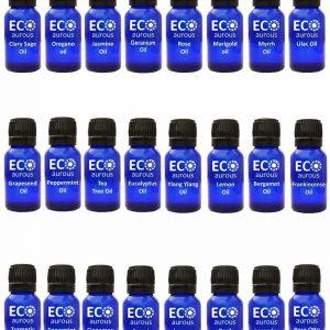 Buy Organic Aromatherapy Essential Oils Set Kit ( 24X10Ml(0.33 Oz) Pure & Natural Online