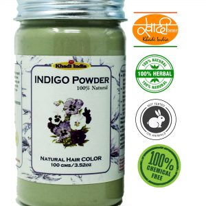 Khadi Indigo Powder 100 G (Pack Of 2)