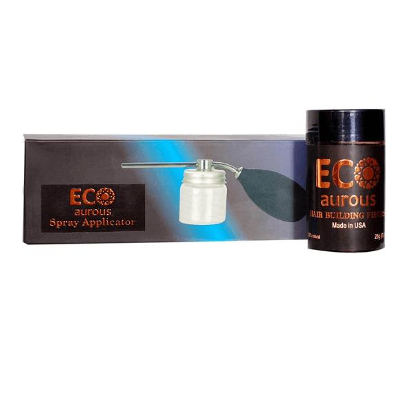 Eco Aurous Hair Building Fiber (25G Each) With Spray Applicator