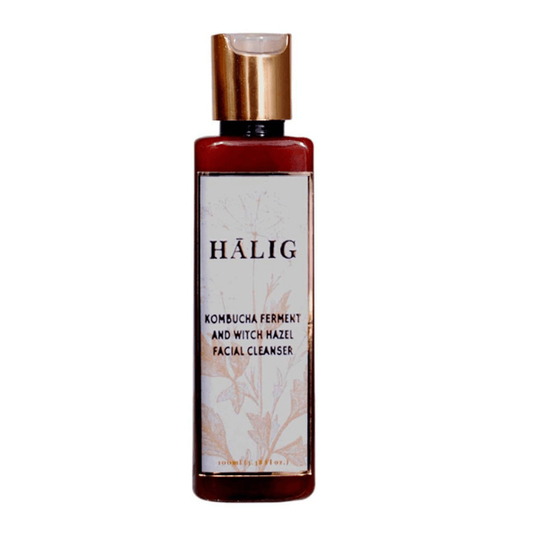 Halig Kombucha Ferment And Witch Hazel Extract Facial Cleanser 100Ml