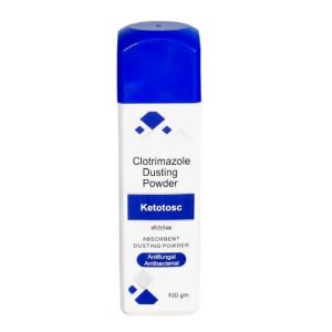 Ketotosc Antifungal, Antibacterial Absorbent Dusting Powder (100G)