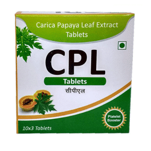 Leaf Extract 1100Mg For Increasing Platelet Count And Building Immunity For Dengue